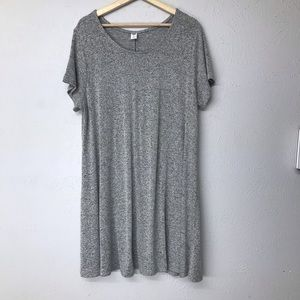 old Nava gray t shirt dress size XL